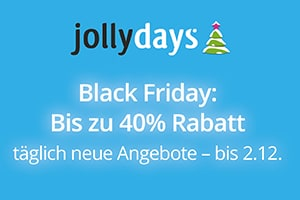 JollyDays Black Friday