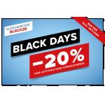 Hervis Black Friday 2019 – 20 % Rabatt auf nicht reduzierte Artikel