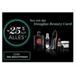 Douglas Black Friday 2020 – 25% Rabatt auf (fast) ALLES & gratis Versand