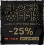 SportScheck Black Week 2018 – 50 % auf ausgewählte Artikel (bis 26.11.)