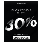 Seidensticker Black Weekend 2020 – 30 % Rabatt auf ALLES (inkl. Sale)