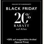 Intimissimi Black Friday:  -20% auf ALLES & -50% auf ausgewählte Artikel