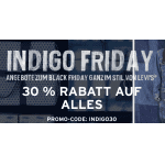 Levis Indigo Friday: 30 % Rabatt auf ALLES