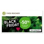 Yves Rocher Black Friday: 50 % Rabatt auf ausgewählte Produkte