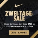 Nike Black Friday 2017: 30% Extra-Rabatt auf den Sale (bis 24.11.)