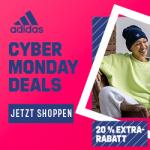 adidas Cyber Wochenende 2018 – 30 % Rabatt auf ausgewählte Produkte