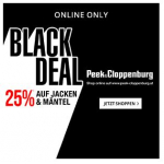 Peek&Cloppenburg Black Night Deal – 10 % Rabatt auf Outdoor Produkte