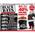 Interspar Black Days – bis zu 40 % Online-Rabatt
