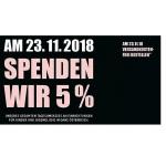 DM Black Friday 2020 – 5 % Spende des Tagesumsatzes (am 27.11.)