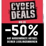 SNIPES Black Friday 2018: 50 % Rabatt auf ausgewählte Artikel