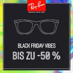 Ray Ban Cyber Week 2020 – bis zu 50 % Rabatt auf Sonnenbrillen