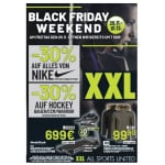 XXL Sports & Outdoor Black Weekend – zB. 50% Rabatt auf alles von Nike