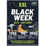 XXL Sports Black Week 2020 – die Highlights im Preisvergleich!