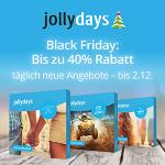 jollydays Black Friday: 20% Rabatt auf Topseller & 40% auf Erlebnisboxen