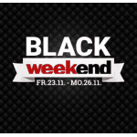 Weekend Shop Black Weekend – 10 % Extra Rabatt auf Gutscheine
