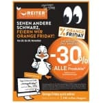 Betten Reiter Orange Friday 2019 – 30 % auf fast alle Produkte