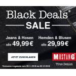 Mustang Black Friday 2019 – zB.: alle Jeans & Hosen um 49,99 €