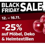 Otto Black Friday Sale – 25% Rabatt auf Möbel, Deko & Heimtextilien
