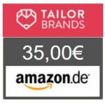 Tailor Brands – 21 € erhalten & 12 Monate GRATIS Logos gestalten