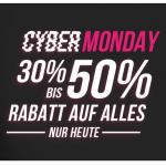 Hunkemöller Cyber Monday – 30 bis 50% Rabatt auf euren Einkauf